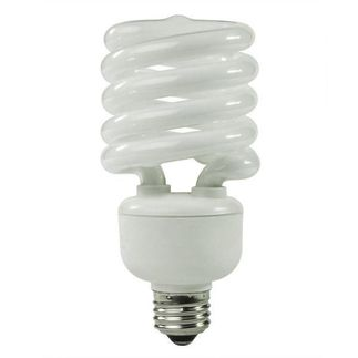 32 Watt - T3 CFL - 130 W Equal - 5000K Full Spectrum - Min. Start Temp. -20 Deg. F - 82 CRI - 66 Lumens per Watt - 15 Month Warranty - TCP 489325-51