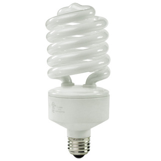 68 Watt - 277 Volt - 300 W Equal - Full Spectrum 5000K - CFL Light Bulb - TCP 28968H27750K Screw In CFL