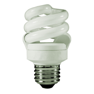 9 Watt - CFL - 40 W Equal - 3500K Halogen White - Min. Start Temp. -20 Deg. F - 82 CRI - 67 Lumens per Watt - 15 Month Warranty - TCP 48909-35 Screw In CFL