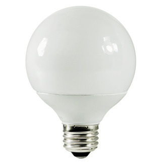 14 Watt - G25 CFL - 60 W Equal - 2700K Warm White - 82 CRI - 57 Lumens per Watt - 15 Month Warranty - TCP 2G2514-27 Globe CFL