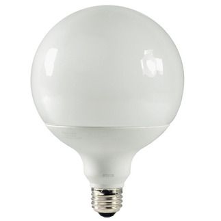 19 Watt - G40 CFL - 75 W Equal - 2700K Warm White - 82 CRI - 50 Lumens per Watt - 15 Month Warranty - TCP 1G4019-27