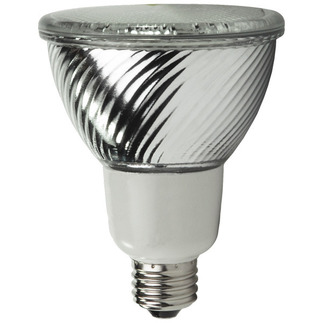 16 Watt - PAR30 CFL - 75 W Equal - 5000K Full Spectrum - Min. Start Temp. -20 Deg. F - 82 CRI - 44 Lumens per Watt - 15 Month Warranty - TCP PF3016-50