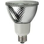 16 Watt - PAR30 CFL - 65 W Equal - 3000K Warm White - Min. Start Temp. -20 Deg. F - 82 CRI - 44 Lumens per Watt - 15 Month Warranty - TCP PF3016-31 CFL Flood Light
