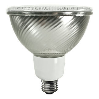 23 Watt - PAR38 CFL - 90 W Equal - 3000K Warm White - Min. Start Temp. -20 Deg. F - 82 CRI - 43 Lumens per Watt - 15 Month Warranty - TCP PF3823-30