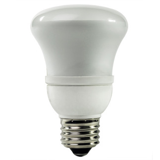 4 Watt - R20 CFL - 15 W Equal - 2700K Warm White - Min. Start Temp. -20 Deg. F - 82 CRI - 33 Lumens per Watt - 12 Month Warranty - TCP 1R2004-27 Screw in CFL