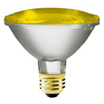 75 Watt - PAR30 - Yellow - 120 Volt - 2,500 Life Hours - Halogen Light Bulb - Bulbrite 683758