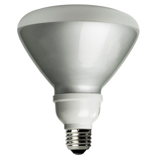 23 Watt - R40 CFL - 120 W Equal - 3100 Kelvin - Min. Start Temp. -20 Deg. F - 82 CRI - 54 Lumens per Watt - 15 Month Warranty - TCP 1R4023-31K CFL Flood Light