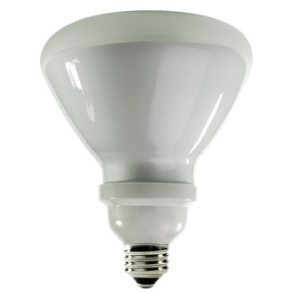 23 Watt - R40 CFL - 120 W Equal - 2700K Warm White - Min. Start Temp. -20 Deg. F - 82 CRI - 54 Lumens per Watt - 15 Month Warranty - TCP 1R4023-27K