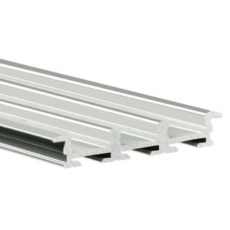 78.75 in. Anodized Aluminum Mounting Channel - Triada - K LED Profile - For LED Tape Light - Klus B4477L