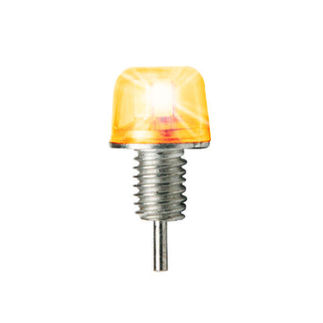 1.5 Watt - Dimmable LED Diode - Amber - 50 Lumens - 15 Watt Halogen Equal - PLT DIODEAMB