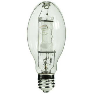 175 Watt - ED28 - Metal Halide - Unprotected Arc Tube - 4000K - Mogul Base - ANSI M57/E - Universal Burn - TCP 46310 ED28 Metal Halide