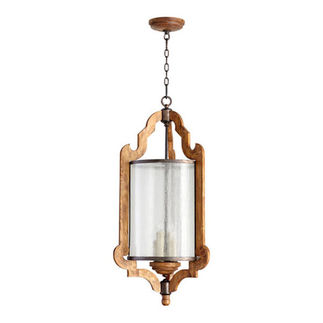 Quorum 6963-4-23 - Foyer Pendant - 4 Light - Provincial Finish