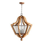 Quorum 8163-6-23 - Foyer Pendant - 6 Light - Provincial Finish