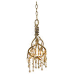 Golden Lighting 9903-MIL MG - Crystal Mini Pendant
