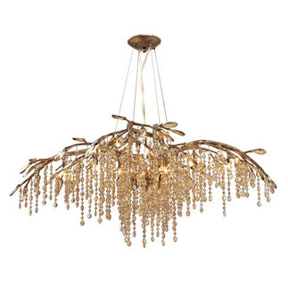 Golden Lighting 9903-6 MG - Crystal Chandelier