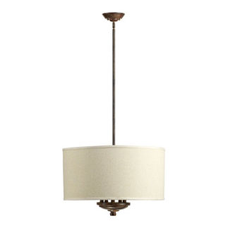 Quorum - 8166-5-21 - Drum Pendant - 5 Light - Early American Finish
