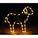 3.4 ft. - C7 LED - Nativity Scene Standing Lamb - 120 Volt