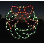 4 ft. x 4.3 ft. - C7 LED - Christmas Wreath - 120 Volt