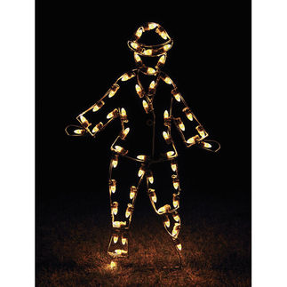 4.4 ft. - C7 LED - Victorian Skater Boy - 120 Volt