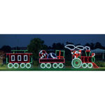 10 ft. x 35 ft. - C7 LED - Animated 3-Car Train Set - 120 Volt
