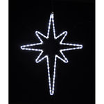 2.8 ft. - Cool White - LED Rope Light - Star of Bethlehem - 120 Volt