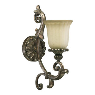 Quorum 5400-1-58 - Wall Sconce - 1 Light -   Mystic Silver Finish