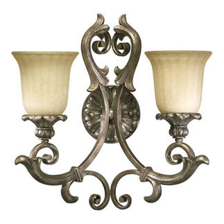 Quorum 5400-2-58 - Wall Sconce - 2 Light - Mystic Silver