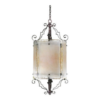 Quorum 6821-6-13 - Foyer Pendant - 6 Light - Coffee Finish