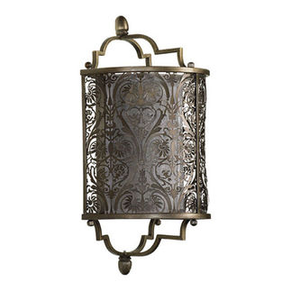 Quorum 5597-18 - Wall Sconce - 1 Light -  Vintage Pewter Finish