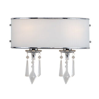 Golden Lighting 8981-BA2 BRI - Transitional Vanity Light