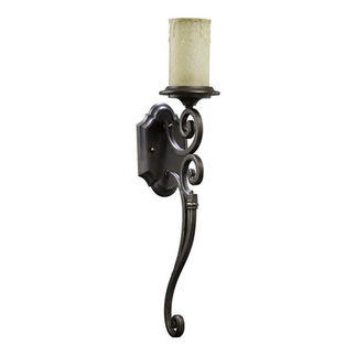 Quorum 5431-1-86 - Wall Sconce - 1 Light -  Oiled Bronze Finish