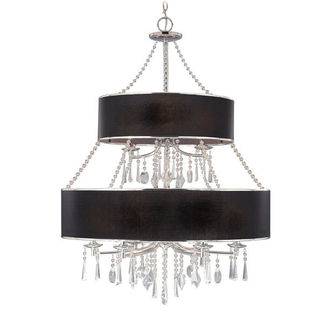 Golden Lighting 8981-9 GRM - Elegant Chandelier