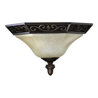 Quorum 5731-86 - Flush Mount Ceiling Fixture - 1 Light