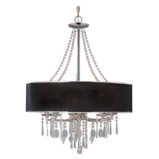 Golden Lighting 8981-5 GRM - Elegant Chandelier