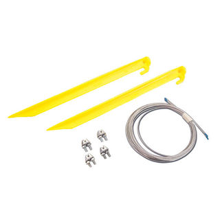 Guy Wire Kit for Commercial Christmas Displays Under 4 ft. High