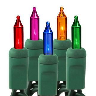(35) Multi-Color Bulbs - Mini Lights - 11.5 ft.