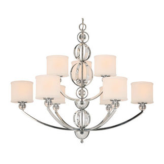 Golden Lighting 1030-363 CH - Modern Chandelier