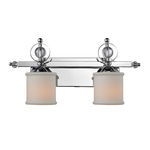 Golden Lighting 1030-BA2 CH - Modern Vanity Light