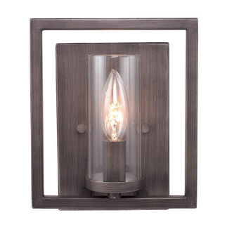 Golden Lighting 6068-1W GMT - Geometric Wall Sconce