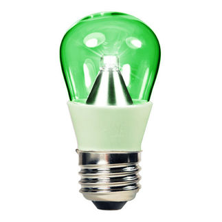 1.3 Watt - LED - S14 - Green - 25 Lumens