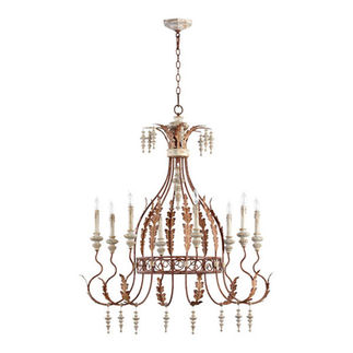 Quorum 6252-8-56 - Chandelier - 8 Light - Manchester Gray