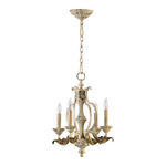 Quorum 6037-4-70 - Chandelier - 4 Light - Persian White