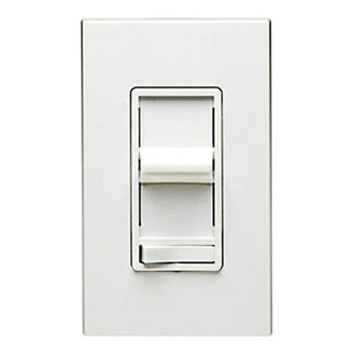 Leviton SureSlide 6674 - Dimmable CFL and Incandescent Slide Dimmer