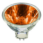 Ushio 1003132 - 50 Watt - MR16 - Popstar - Orange - EXT Spot - 4,000 Life Hours - 12 Volts