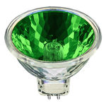 Ushio 1000584 - 50 Watt - MR16 - Popstar - Green - FNE Spot - 4,000 Life Hours - 12 Volts