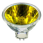 Ushio 1000580 - 50 Watt - MR16 - Popstar - Yellow - FNC Spot - 4,000 Life Hours - 12 Volts