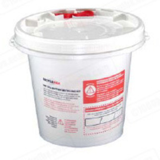 Veolia SUPPLY-093 - 1/2 Gallon Battery Recycling Pail