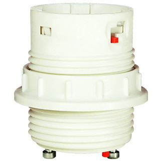 26 Watt - Threaded Twist and Lock - GU24 Electronic Socket Ballast with Ring - 4 Pin G24q-3 or GX24q-3 - Premium Quality Brand D3534