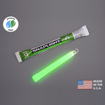 6 in. SnapLight Light Sticks - Green - 12 Hours - Industrial Grade - Cyalume 9-08001