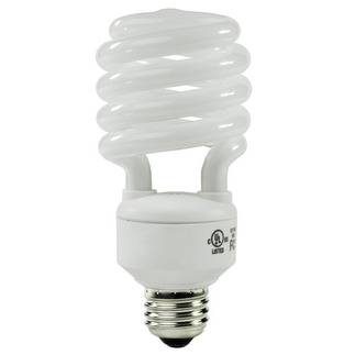 27 Watt - CFL - 100 W Equal - 3500K Halogen White - Min. Start Temp. -20 Deg. F - 82 CRI - 65 Lumens per Watt - 15 Month Warranty - TCP 801027-35 Screw In CFL